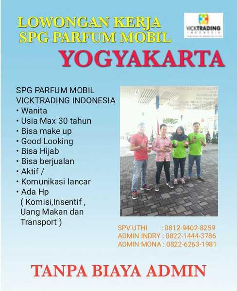 Lowongan Kerja Spg Spb Di Vicktrading Indonesia Lokerjogja Id
