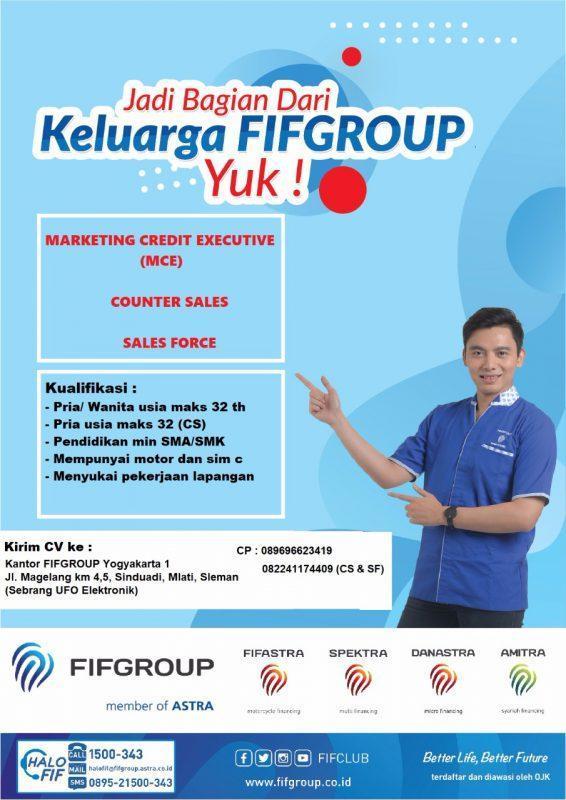 Lowongan Kerja Marketing Credit Executive Sales Force Di Fifgroup Yogyakarta 1 Lokerjogja Id