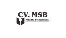 Lowongan Kerja Staff Operasional Produksi di CV. Mutiara Selatan Box - Yogyakarta